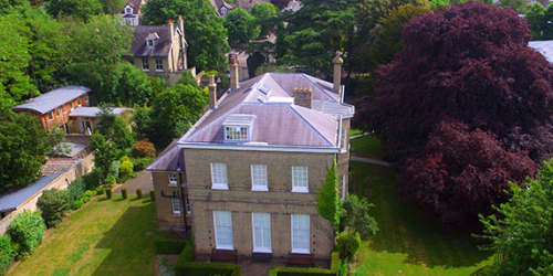 Trumpington House, part of the Faculty of Education at the University of Cambridge